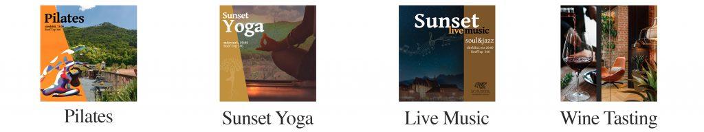 Evenimente schuster hotel brasov events yoga live music pilates wine tasting
